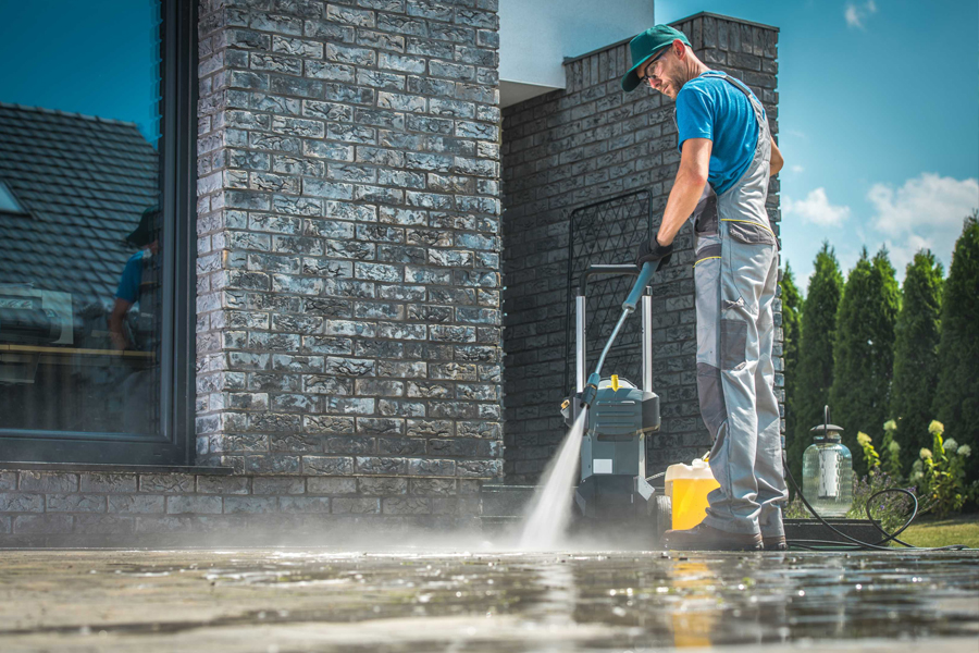 Pressure Washing Service for Outdoor Areas